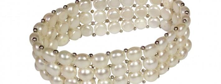 great gatsby white bracelet