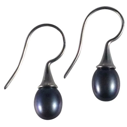 black pearl drop earrings a for pearls