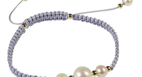 grey shambala bracelet