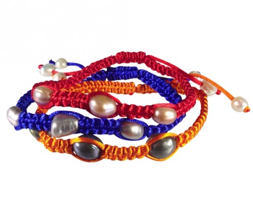 neon shambala bracelets